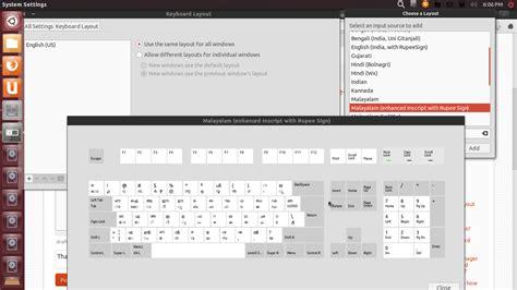 keyboard layout gui ubuntu how do i add the malayalam keyboard layout in kubuntu