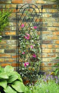 Black Garden Trellis York Garden Centre No Retail Outlet 1 75m Black Metal