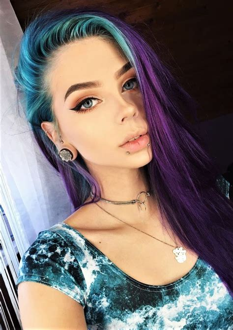 edgy hair color best 25 edgy hair colors ideas on which