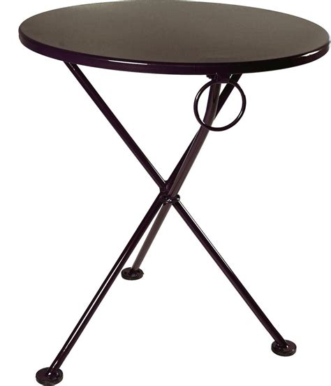 Folding Bistro Table Furniture Designhouse Caf 233 Bistro 3 Leg Folding Bistro Table Jet Black