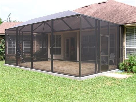 Patio Screen Enclosure Design A Screened In Patio Studio Design Gallery