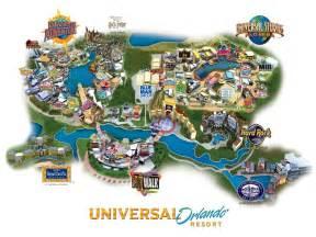 Universal Orlando Map 2015 by Viator Universal Orlando 3 Park Bonus Ticket In Orlando