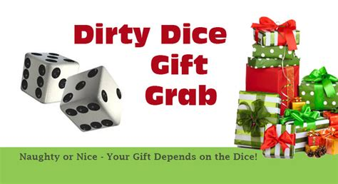 dirty dice christmas gift grab game gift exchange game