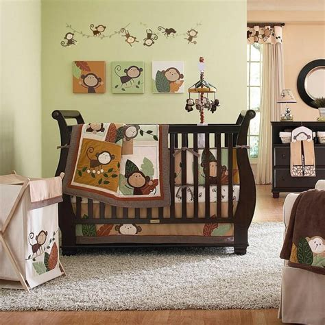 Forest Themed Crib Bedding by Jungle Themed Nursery Bedding Sets Thenurseries