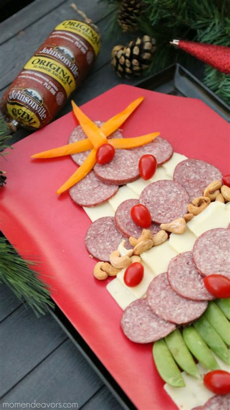christmas appetizer tree board easy tree cheese board