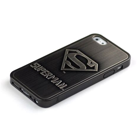 Air Iphone 5s 3d Hardcase fashion superman 86hero chrome 3d plating for