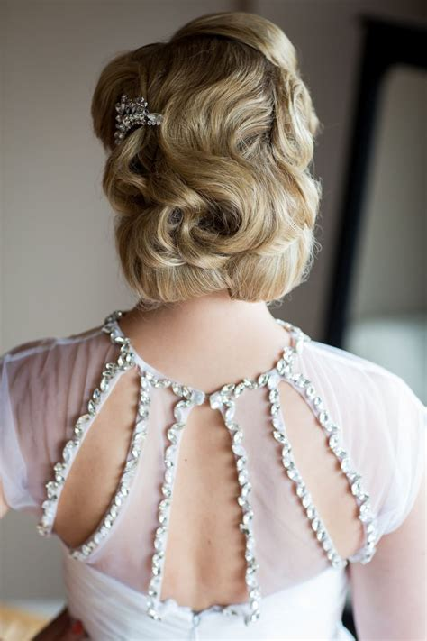 Deco Hairstyles by 20 Deco Bridal Hair Makeup Ideas Chic