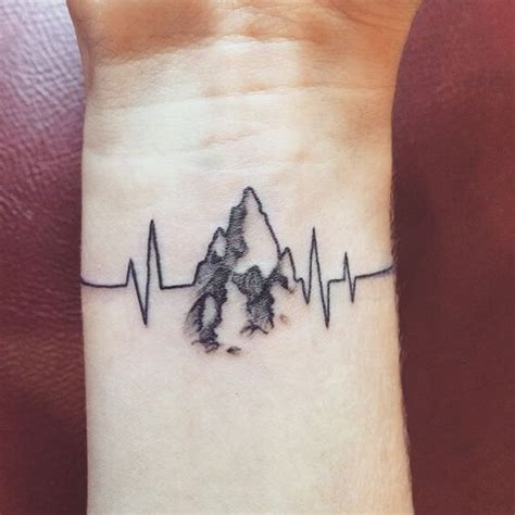 heart monitor tattoo designs top 25 best monitor ideas on in