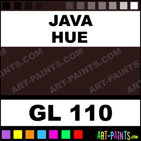 java opaque gloss ceramic paints gl 110 java paint java color nowell opaque gloss