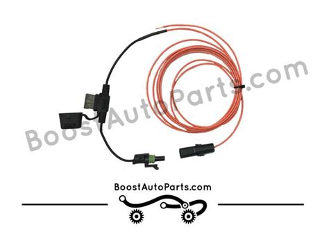 dual function tow mirror wiring harness running light