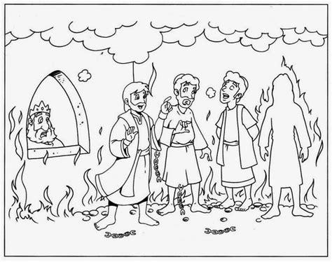 Dibujos Para Colorear Sadrac Mesac Y Abednego | imagenes cristianas para colorear dibujos para colorear