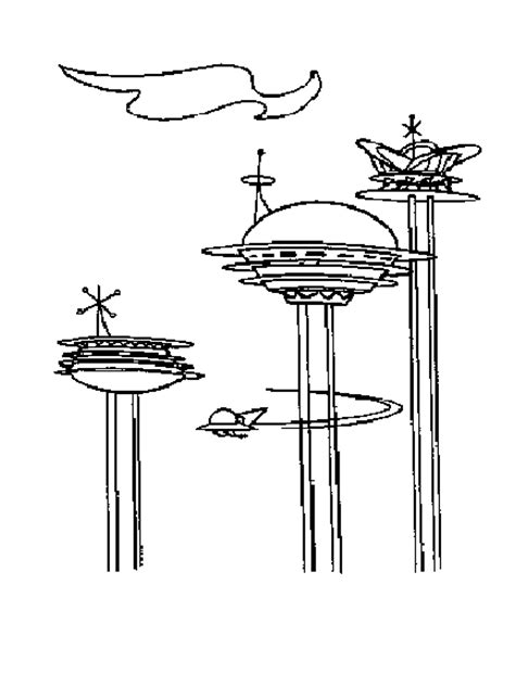 free jetsons coloring pages george jetson free coloring pages