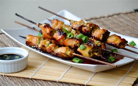 An Yukitri negima yakitori chicken and scallion skewers obsessive cooking disorder