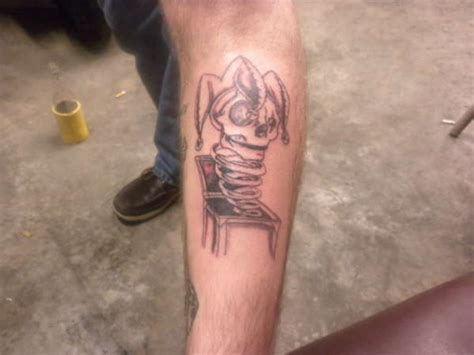 jack in the box tattoo in the box
