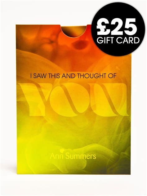 Ebay Gift Card Uk Stores - ann summers 163 25 store gift card ebay