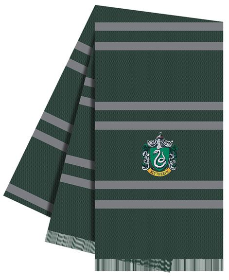 slytherin colors harry potter house of slytherin colors crest scarf