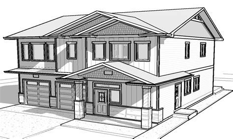 simple 3d house drawing simple house designs house