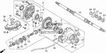 Honda 300 Fourtrax Rear End Parts Honda 300 Fourtrax Rear Axle Diagram Car Interior Design