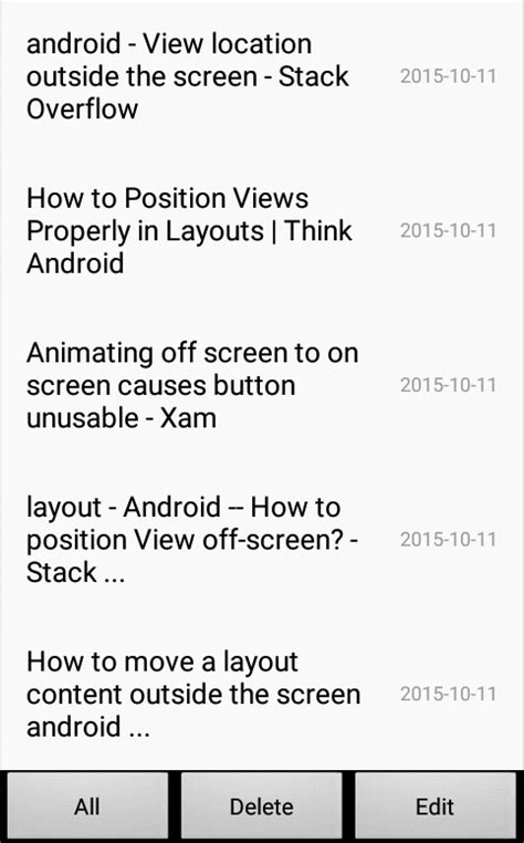 relativelayout translateanimation item animation of recyclerview in android stack overflow