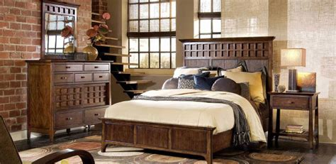 rustic western bedroom furniture brown plank bunk bed