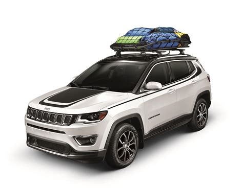 jeep hood accessories mopar introduces 2017 jeep compass accessories hood