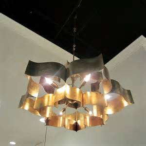 Lotus And Co Grand Lotus Chandelier Currey Company Clayton Gray Home