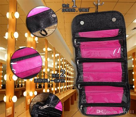 Roll And Go Makeup Tools Travel Bag 2017 roll n go new arrival cosmetic bag multi function