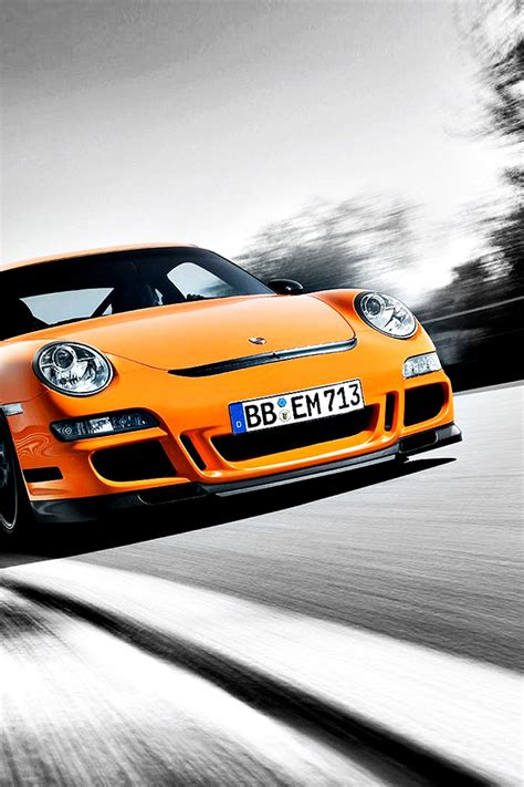 Car Wallpapers For Iphone 4s by Orange Mini Iphone 4s Wallpaper Iphone Wallpapers Iphone