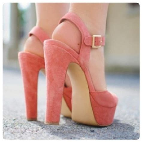 Wedges Pastel Series shoes pink heels high heels pink high heels wedges