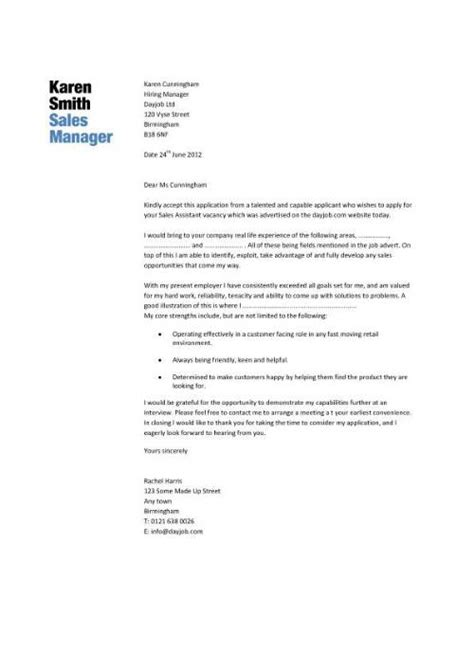 Cover Letter Sle Management by Sales Manager Cv Exle Free Cv Template Sales Management Sales Cv Marketing