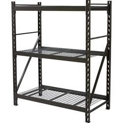 strongway steel shelving 60in w x 30in d x 72in h 3