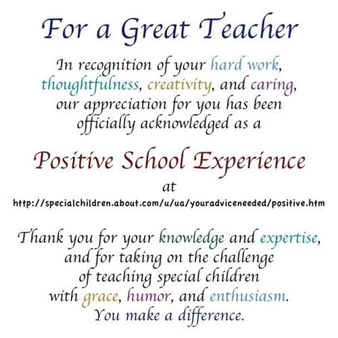 thank you letter to special ed here s how to celebrate appreciation week