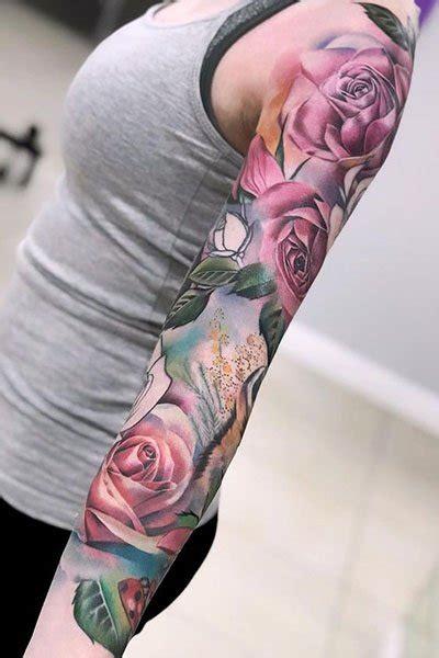 gorgeous rose tattoo ideas  women  trend spotter