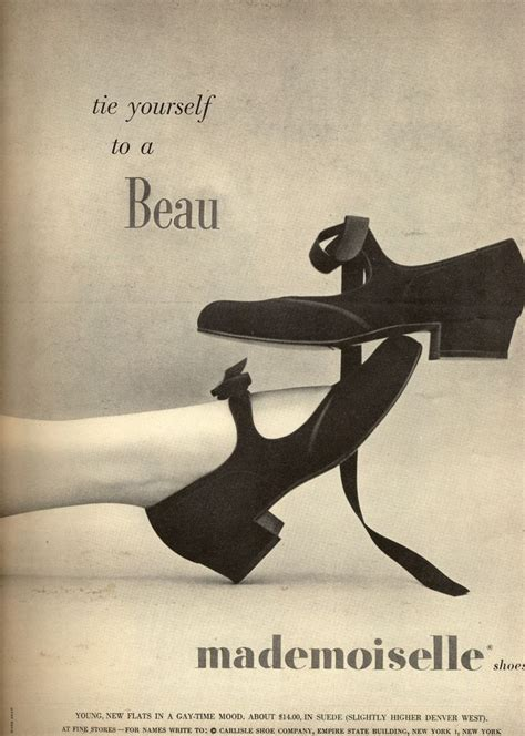 Flat Shoes Vintage Ad F02 Murahmodis 17 best vintage shoe ads images on vintage ads vintage advertisements and shoes ads