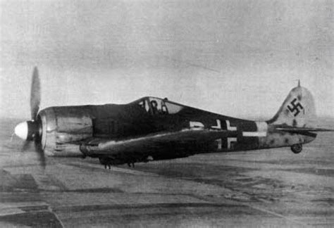 german aircraft of world war two focke wulf focke wulf 190