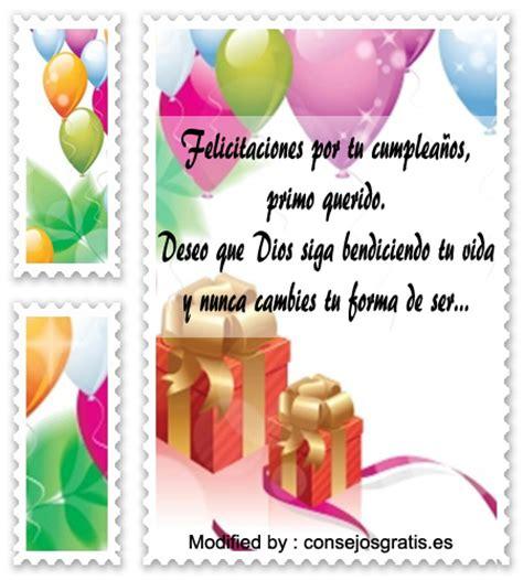 imagenes feliz cumpleaños primo querido felicitaciones de cumplea 241 os para un primo saludos de
