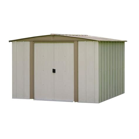 Garden Shed Catalog by Arrow Bedford 8 Ft X 8 Ft Steel Storage Shed Bd88 The