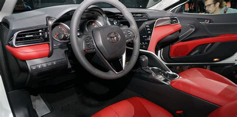 toyota camry 2017 interior 2018 toyota camry revealed japan built sedan in