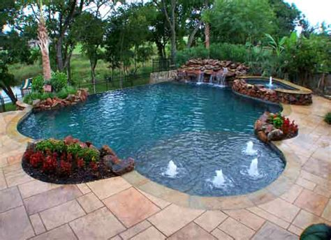 Pool Supplies Make Your Own Piece Of Backyard Paradise Cool Backyard Pools