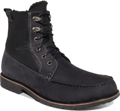 emu boots mens emu shoes ellis boots in black for lyst