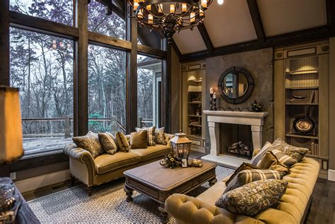 homes interior the cliffs at mountain park model home habersham home lifestyle custom furniture cabinetry