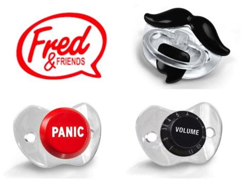 Volume Knob Pacifier by Fred Friends Recalls 200 000 Infant Pacifiers Due To