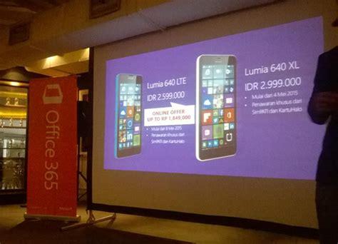 Microsoft Lumia 640 Xl Lte Indonesia microsoft lumia 640 lte lumia 640 xl dual sim resmi dirilis di indonesia nokianesia