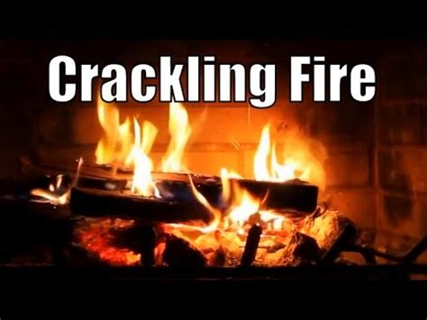 Crackling Fireplace Sound by Asmr Crackling Fireplace 1 Hour 3d