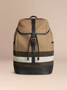 burberry backpack canvas check backpack burberry