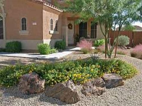 Rock Landscaping Ideas Backyard Desert Rock Garden Rock Front Yard Desert Landscaping