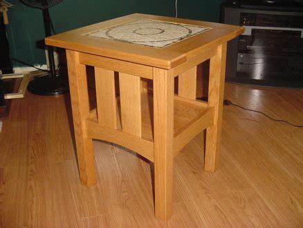 craftsman style end tables craftsman style end tables by kram79 lumberjocks com