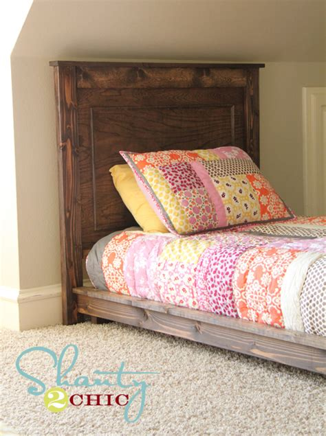 diy twin platform bed diy 30 twin platform bed hometalk