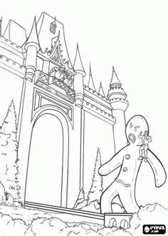 gingerbread man shrek coloring page 1000 images about shrek and puss in boots on pinterest