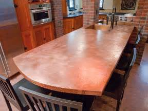 Copper Kitchen Countertops Copper Countertops Images Frompo